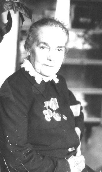 Прасковья Андреевна Попова