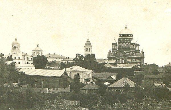 Вид на Торицкий собор с южной стороны