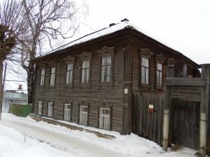 Дом, где жила М.М. Пальчикова (Логинова).