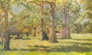 Дубовая роща в Абрамцеве (1883).