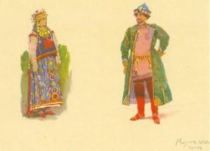 Мизгирь и Купава (1885-1886).