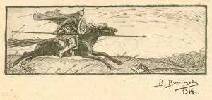 """""""И один в поле воин"""" (1914)."""