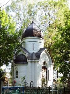 Часовня над могилой преподобного Матфея Яранского (г. Яранск)