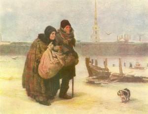 """""""С квартиры на квартиру"""". 1876."""