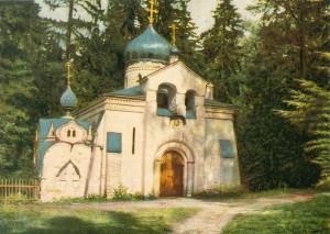 В. М. Васнецов. Церковь Спаса Нерукотворного. 1881-1882. Абрамцево.