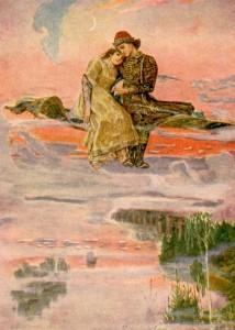 """""""Ковер-самолет"""" (1920-е гг.)."""