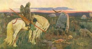 """""""Витязь на распутье"""". 1882."""