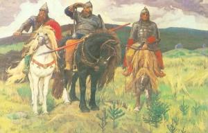 """Богатыри"" (1881-1898)."