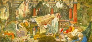 """""""Спящая царевна"""" (1900-1926)."""
