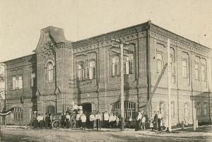 ул. Елкина, 72. Здание музея. В начале 20 века - пожарная часть.