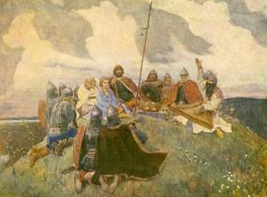 """Открытка """"Баян"""". 1910."""