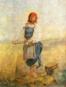 """Жница"". 1867."