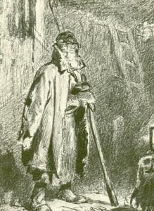 Ночной сторож. 1870.