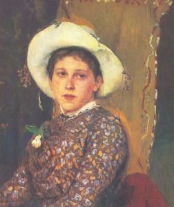 Портрет Татьяны Анатольевны Мамонтовой. 1884.