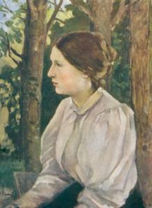 Портрет дочери, Татьяны Викторовны Васнецовой. 1897.