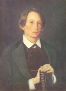 Портрет художника Апполинария Михайловича Васнецова. 1878.