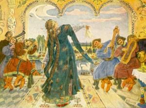 Царевна-лягушка. 1918.