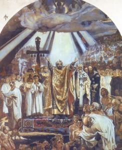 Крещение Руси. 1885-1896.