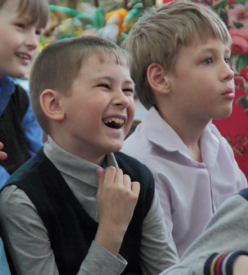 Маленькие читатели на встрече с писательницей Натальей Валентиновной Русиновой