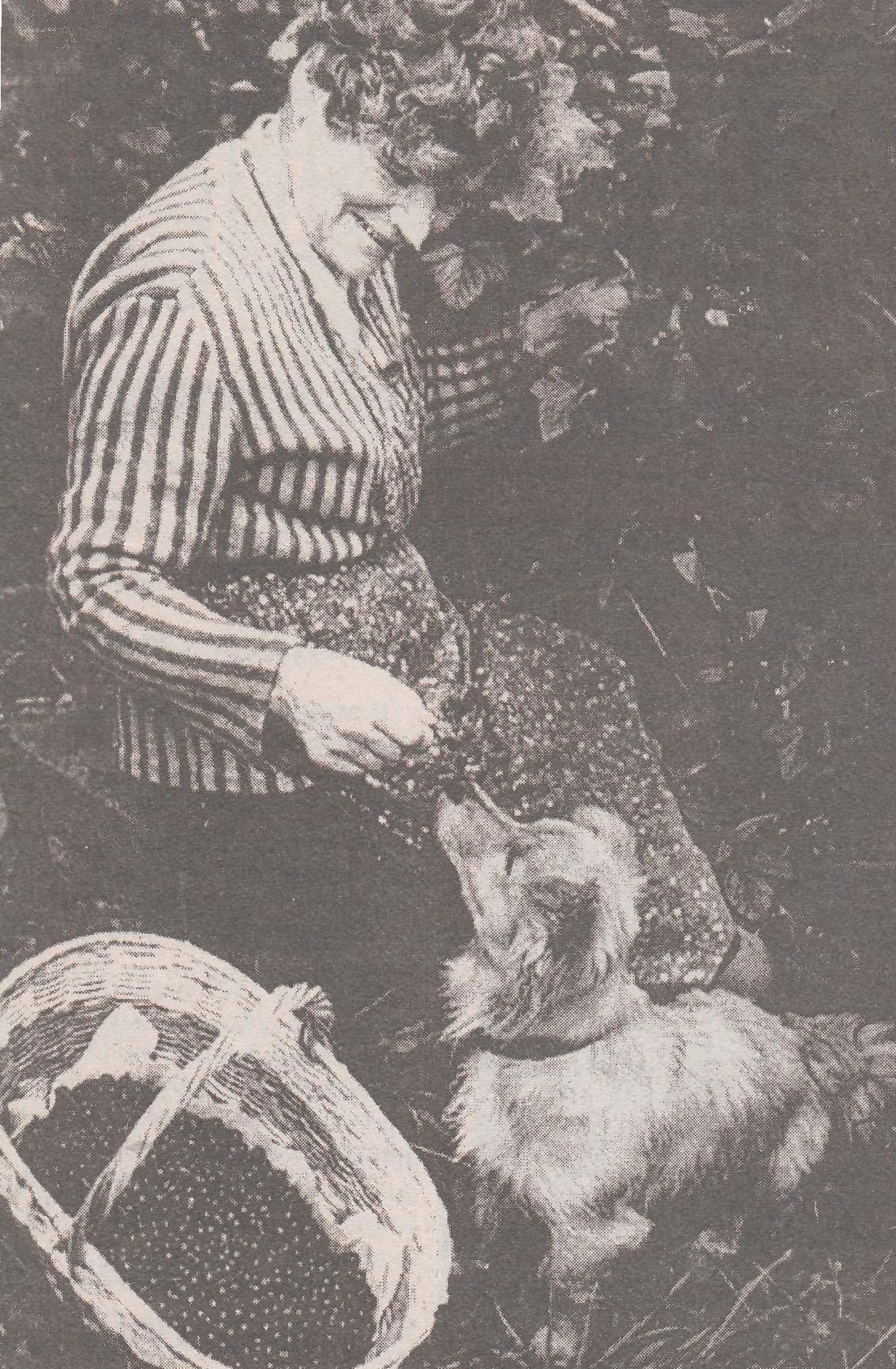 А.В. Винокурова со своим верным другом Дружком