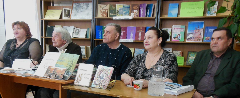 Члены поэтического клуба «Воскресение» из города Нолинска