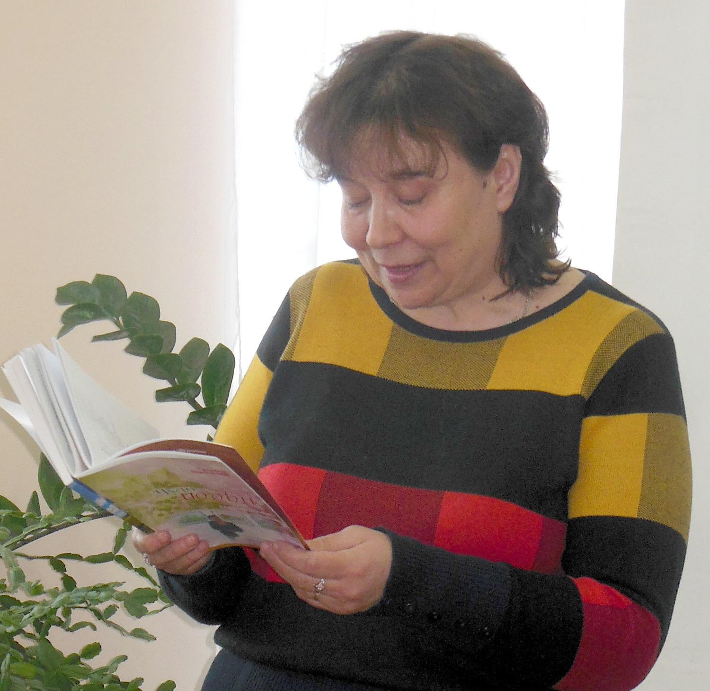 Татьяна Александровна Щелчкова, руководитель уржумского поэтического клуба «Вдохновение»