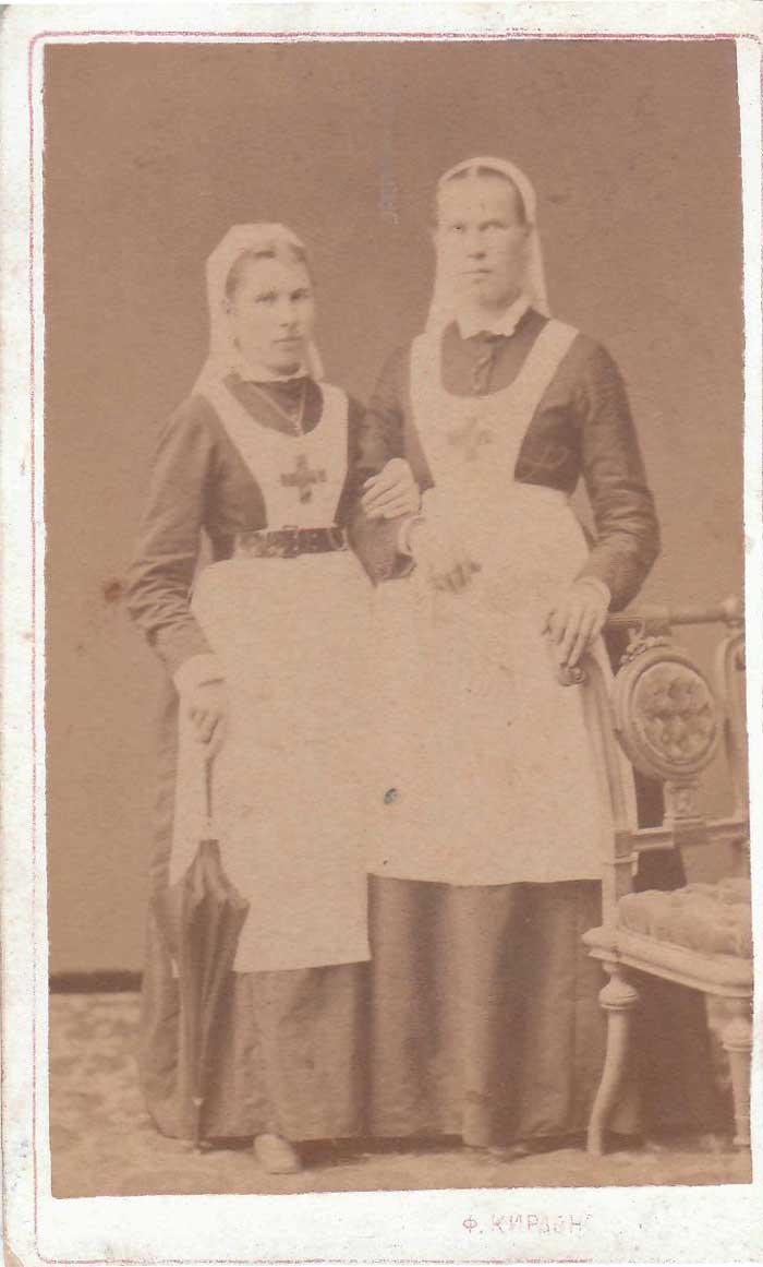Сестры милосердия (фото из фондов Уржум. краевед. музея)