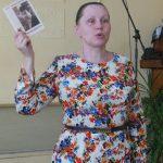 О. Л. Юрлова-Шаклеина, поэт, председатель Кировского отделения Союза писателей России представила книгу стихов А. Кутергина