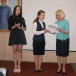 Вручение победительницам муниципального тура конкурса чтецов поэзии Н. А. Заболоцкого