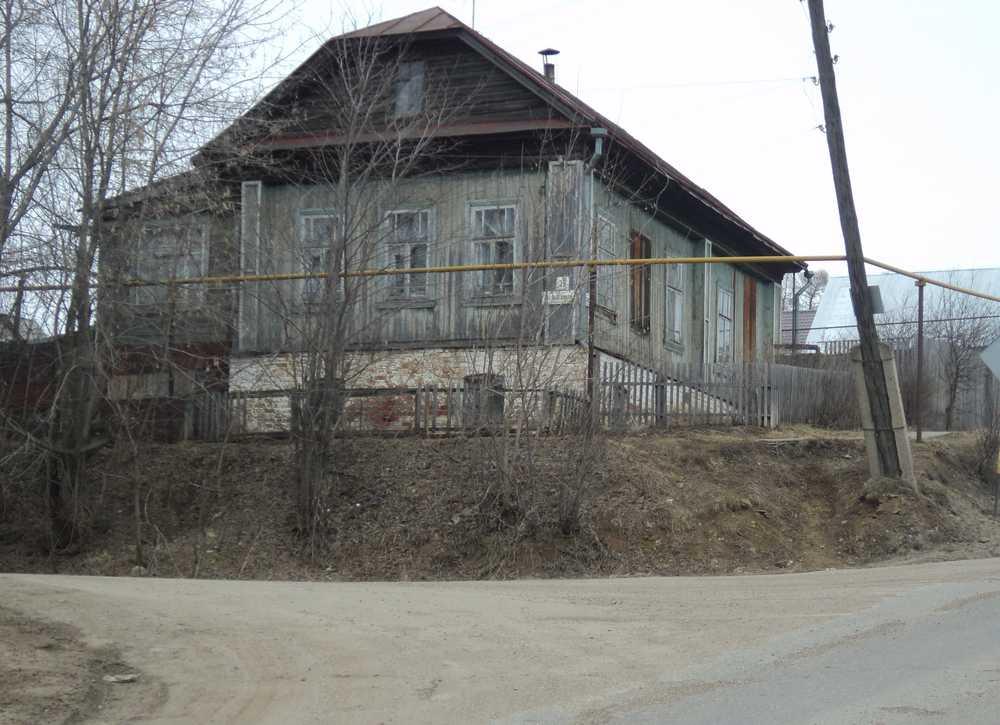 Дом на ул. Гоголя, где жили Новиковы