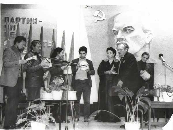Встреча с делегацией писателей и поэтов Дагестана.