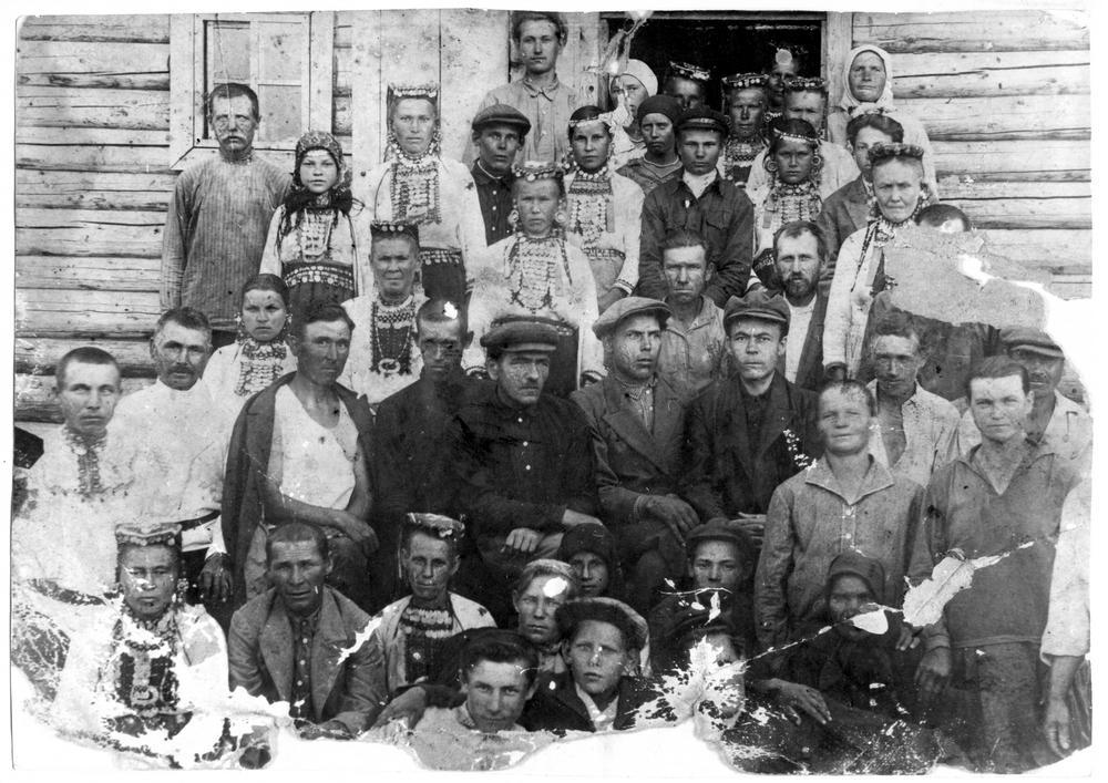 Члены коммуны имени 1 августа. Фото 1930-х годов.